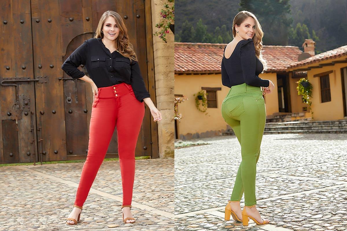 Pantalones Colombianos de Mujer
