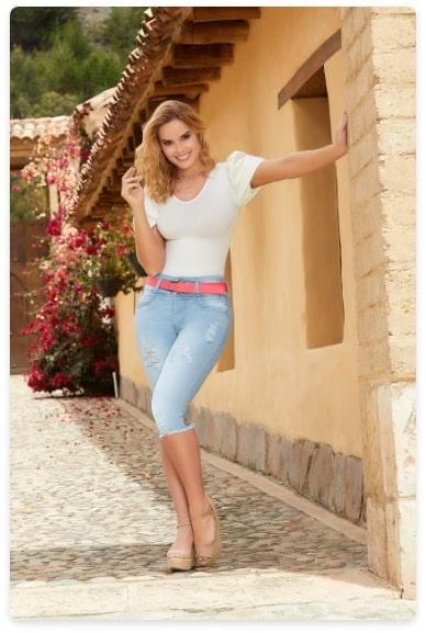 Tissini Jeans Colombianos Levanta Cola 100 Originales