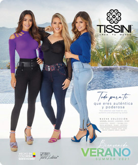 Portada Catálogo Verano textil y zapatos TISSINI 2021