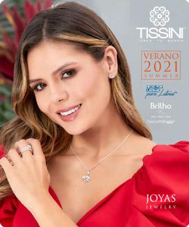Portada Catálogo Verano Joyas TISSINI 2021
