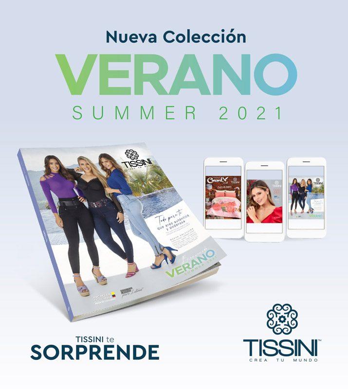 Nuevo catálogo verano TISSINI 2021