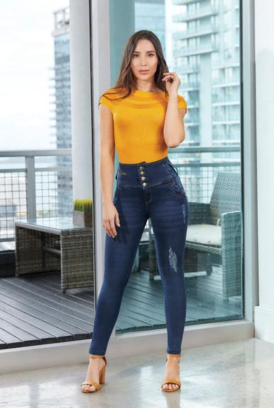 Jeans Colombianos Ref Edna TISSINI
