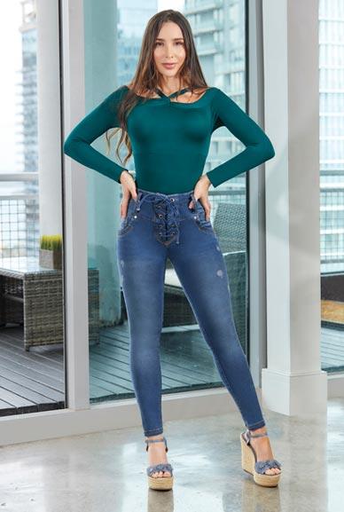 Jeans Colombianos TISSINI Ref Macarena